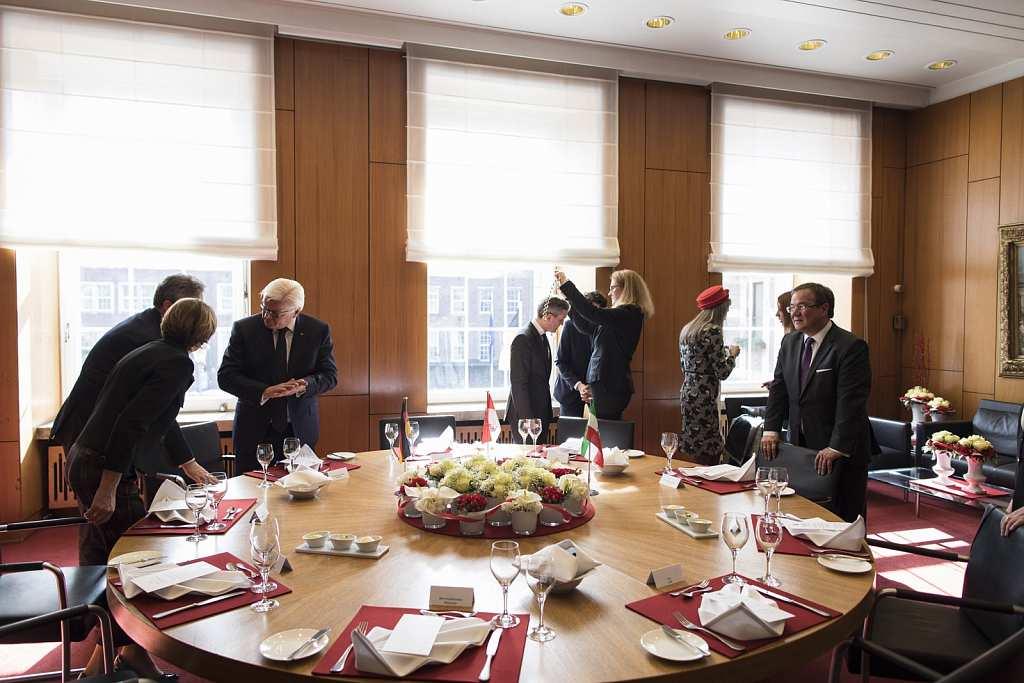 Antrittsbesuch von Bundespräsident Steinmeier in NRW