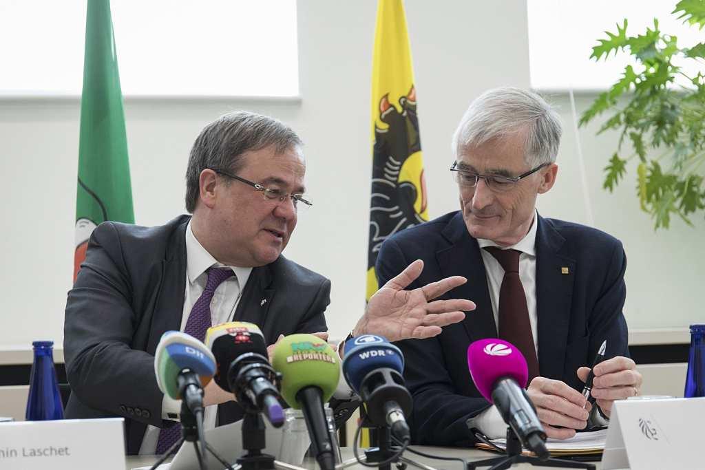 Ministerpraesident Laschet besucht Belgien